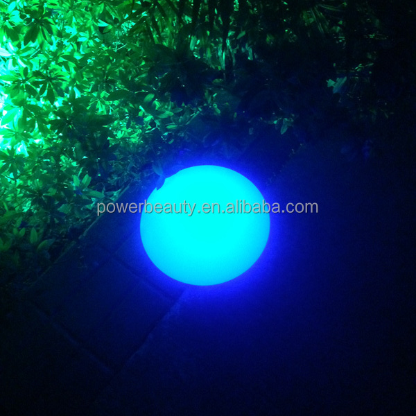 led glow swimming pool ball outdoor