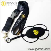 Fashion mobile phone strap case with 25mm width tape sublimation printing lanyard
