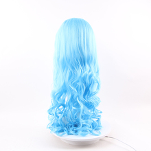 Wholesale price afford wet and wavy overnight delivery lake blue hair wigs
