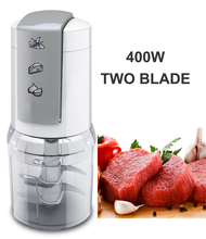 400w plastic electric food blender electric chopper baby food processor