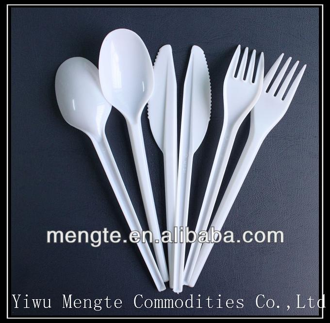 names of new 72pcs disposable cutlery set items