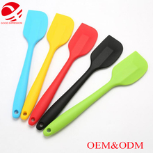 New product 2017 baking silicone spatula spoon set