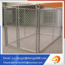 factory direct sables cheap large welded tube welded wire-dog pen enclosure