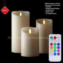 Hot sale led candle with remote control