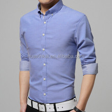 Customs Formal Business Men's Breathable Shirts of long sleeve