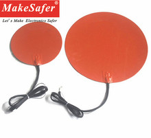 High quality 12v 24v flexible silicone rubber heater