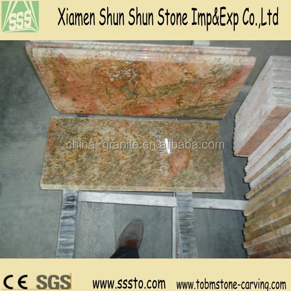 Wholesale Imperial Gold Kitchen Granite Counters for bar/resturant/hotel