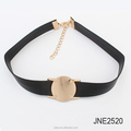 Vintage PU Leather Choker Necklace Goth alloy Choker Collar