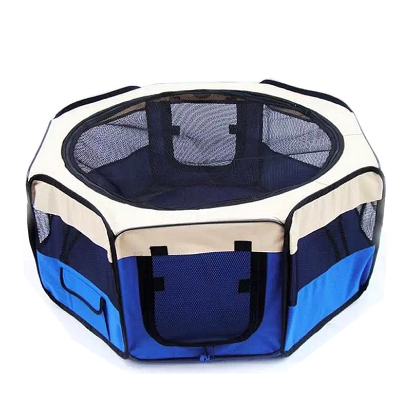 High Quality Cage With Plastic Pet Playpen W/ Tray Pan