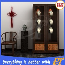 Antique wooden jewelry display shelves for jewelry shop