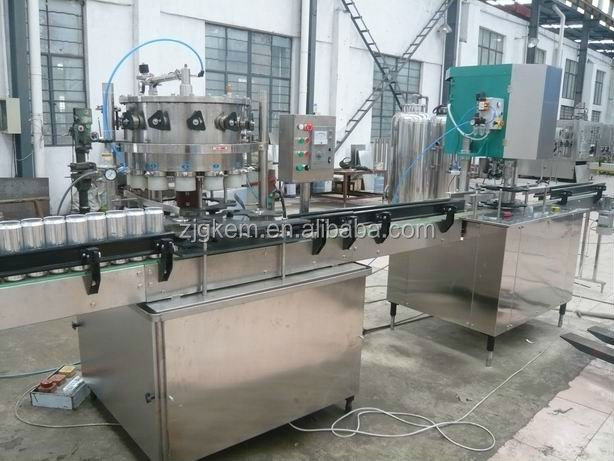 Aluminium Can Filling/Sealing Machine/Beer canning equipment