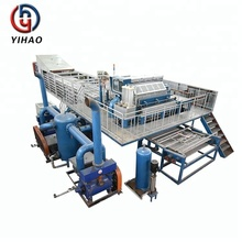waste paper pulp moulding tray production line /egg creat making machine