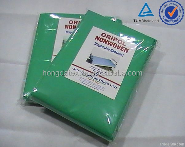 Hospital used non-woven disposable bedsheet