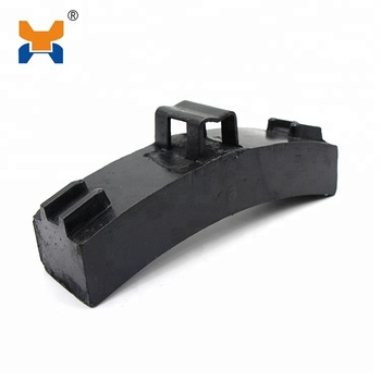 China Factory supply Locomotive composite Brake Blocks For Train Braking System