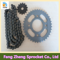 Aftermarket Motorcycle Parts Chain and Sprocket Set