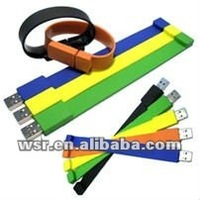 Rubber Bracelet USB Flash Drive
