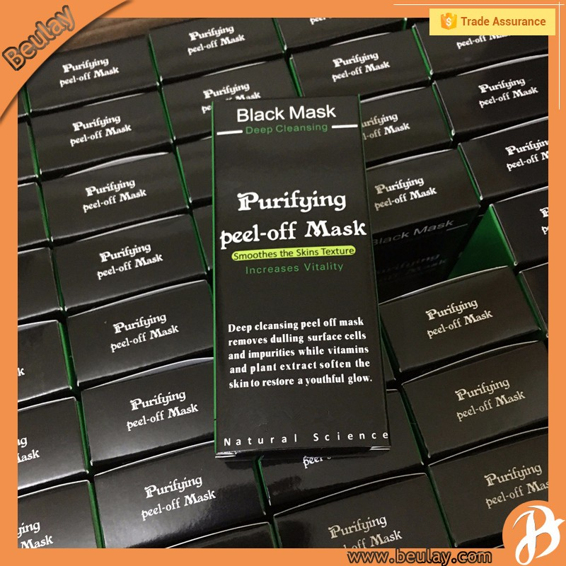 Éclaircissement de la peau purifiant peel-off noir masque supprimer les points noirs beauté soins de la peau