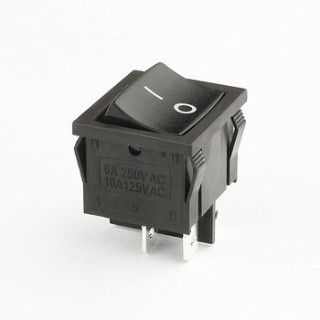 factory price free sample 6a 250v 4 pin 6 pin kcd5 rocker switch