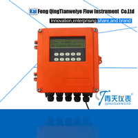 China clamp on ultrasonic flow meter