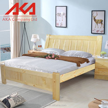 Safety standard modern nature oak antique bedroom furniture