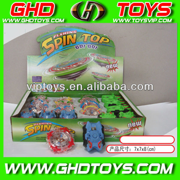 wholesale flash spin top toys with launcher