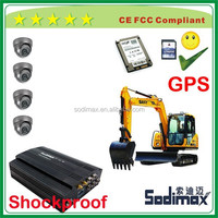 4 channel 3g gps mobile dvr with gas detection and motion detection at reasonable price