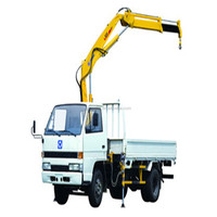 XCMG 1t knuckle truck crane SQ1 for sale