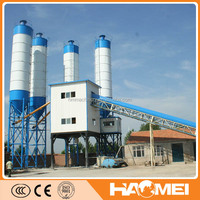 High mixing capacity and advanced HZS180 batch concrete plant