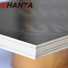linyi chanta finger joint core poplar recycled outdoor brown black film faced plywood for construction used