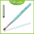 2015 BQAN Hot Selling Wood Handle Gel Brush Nail Art Flat Brush