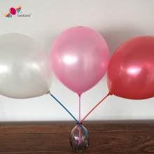 10 inch pearlized metallic latex photo printing helium balloon