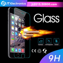 Mobile phone security screen protector / anti water premium tempered glass screen protector for iphone 6 plus