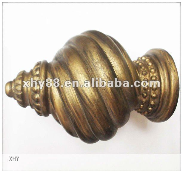 XWF-001 New Design Curtain Finials
