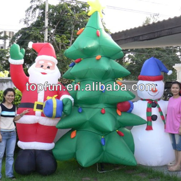 Good quality inflatable christmas tree decoraton