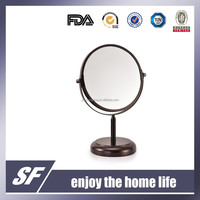 Table Decorative Mirror /Cosmetic Mirror/ Iron Mirror/ Magnifying Mirror/ Chromeplate Makeup Mirror
