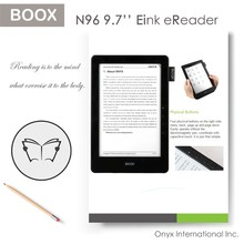 Dual-touch control, built-in light, handwriting paper like, rapid refresh technology ebook reader