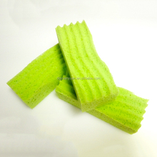 Wholesale Green Special Shaped Cleaning Sponge