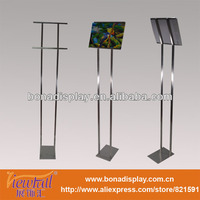 Guangdong Single-side Metal poster board stand a4