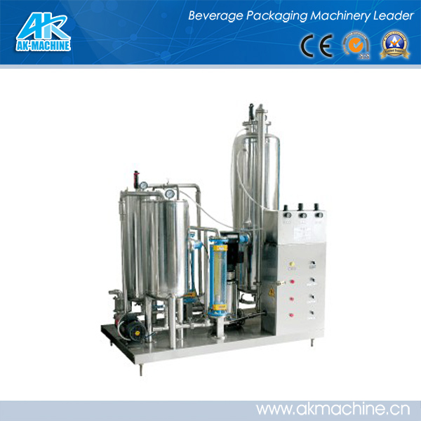 Automatic soft drink beverage Co2 mixer