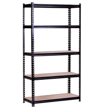 NSF Slotted Angle Spare Parts Storage Iron Warehouse Garage Shelving Boltless Steel Storage Rack System