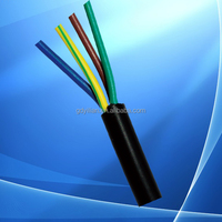 electrical wiring 2 copper core power cable, double core cable