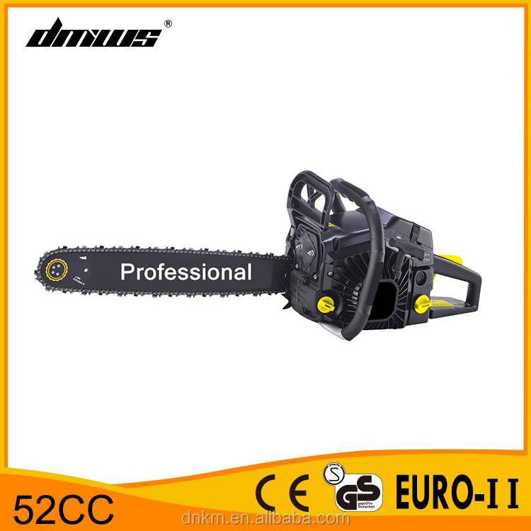 tree cutting machine cheap price of 2 stroke 5200 52cc chainsaw
