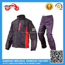Custom Waterproof Motorcycle 3M Reflective Raincoat Printing Logo