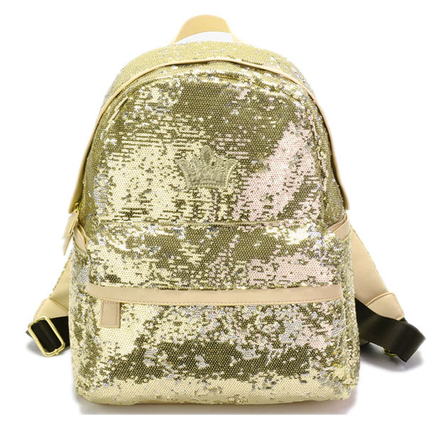 Shiny material School Back Bags