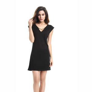 Europe top sale women ready made official wear sleeveless i ladies dresses