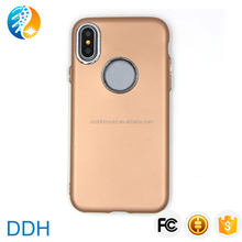 hot selling mobile phone case soft tpu back cover for iphoneX 8plus