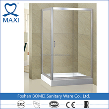 1.2mm thickness aluminum Sliding Open style Dubai shower room