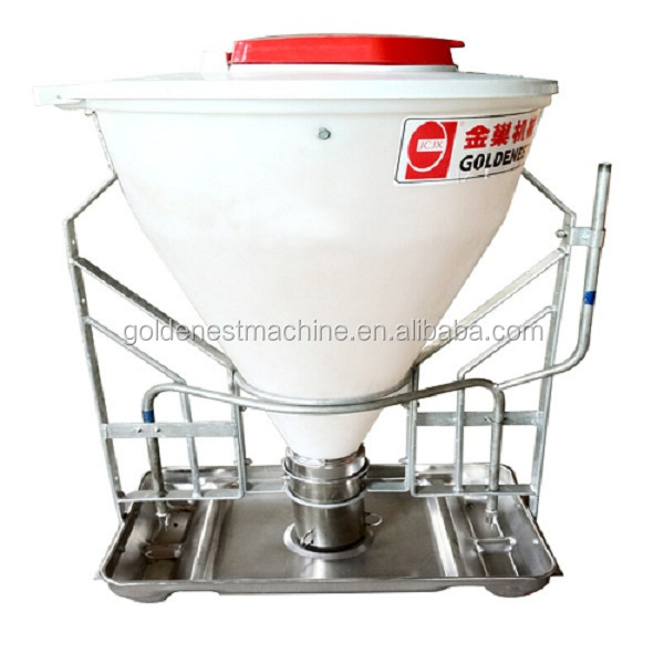 Goldenest wholesale automatic pig feeder feeding system for pig piggery equipment stainless steel JCZY-DW01