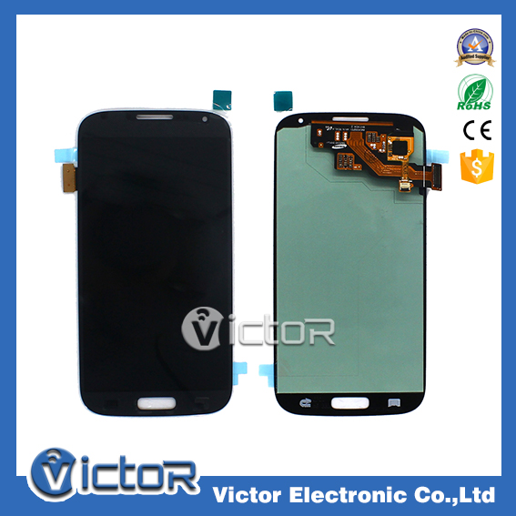 Wholesale mobile phones displays replacement lcd digitizer for Sam Galaxy S4 lcd touch screen
