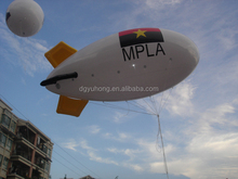 20' long helium filled PVC advertising inflatable blimp